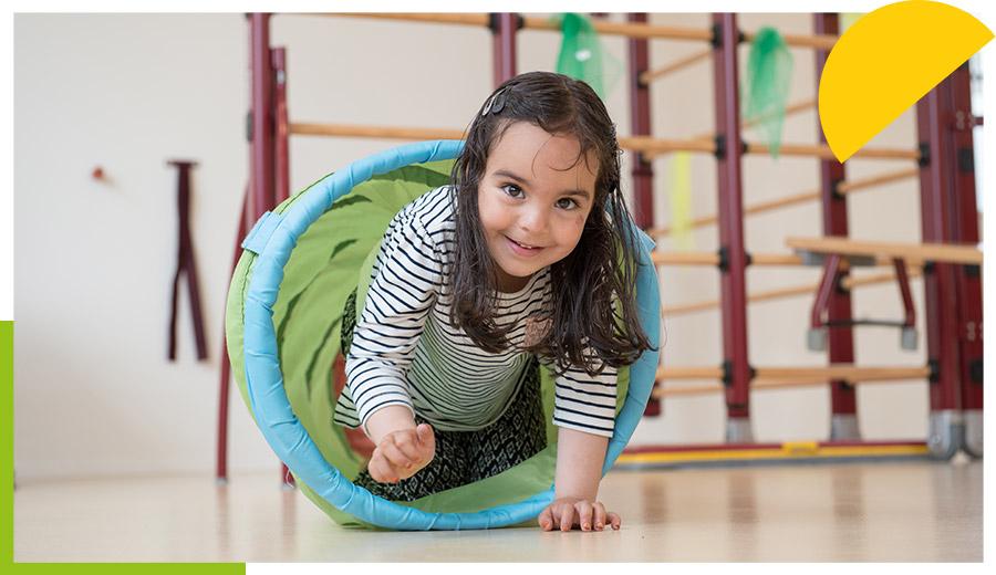 Kind in tunnel praktijk KLIM